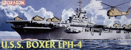 Dragon 7070 1 700 USS Boxer LPH-4 Helicopter Carrier