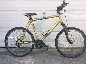 trek 3700 men s bike 21 5 mountain bike gold brown aluminium rh ebay com Trek 3700 MSRP 2014 Trek 3700