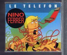 MAXI CD 3 TITRES NINO FERRER LE TELEFON