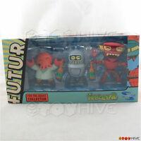 Futurama Tineez Bender Zoidberg And Robot Devil Figures By Toynami 1st Release