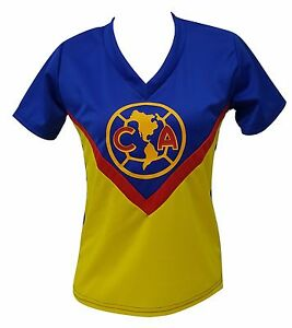 8922214d8 Club America Women s Home Retro Soccer Jersey Made in USA Narrow Fit ...