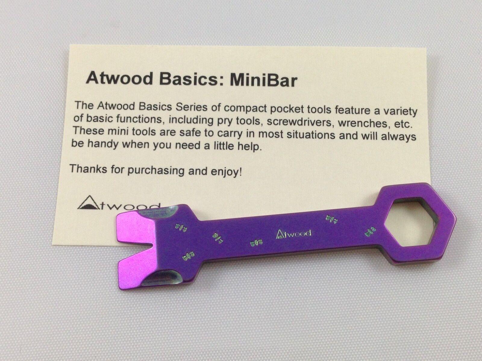 neu  peter atwood - schmetterling biene geprägte minibar minibar werkzeug schraubenschlüssel