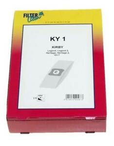 Filter-Clean-KY1-3x-sacchi-sacchetti-aspirapolvere-Kirby-Legend-Heritage-G3-G7