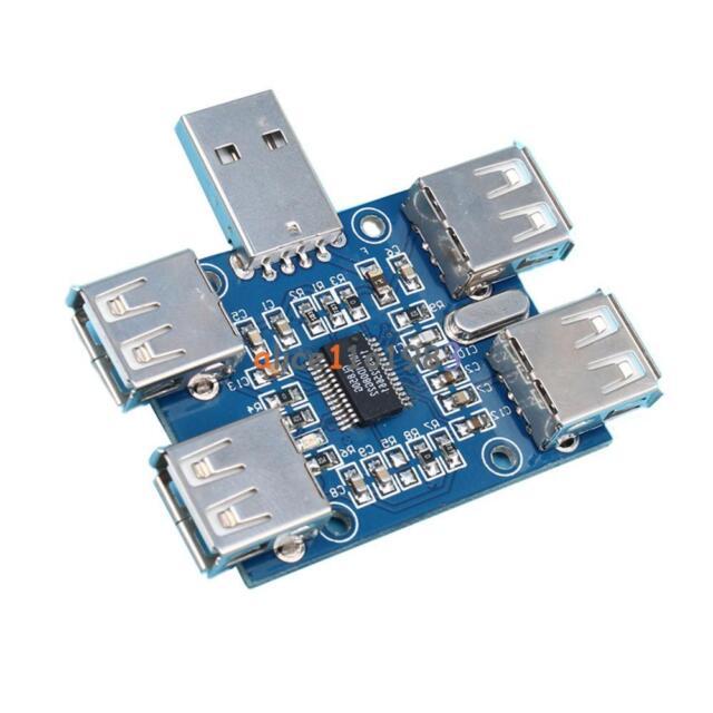 5V USB 4-Female USB2.0 Hub Concentrator HUB Precise USB Expansion Module