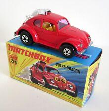 Matchbox Superfast 31b Volks Dragon - NO Label - Mint/Boxed