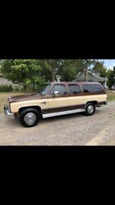 1987 Chevrolet Suburban silverado