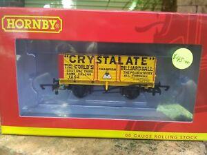 Hornby-R6810-7-plank-wagon-Crystalate-BNIB