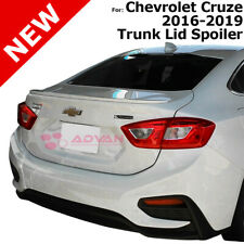 For Chevy Cruze 16 19 Wa636r Silver Ice Metallic Painted Abs Rear Trunk Spoiler Fits Cruze