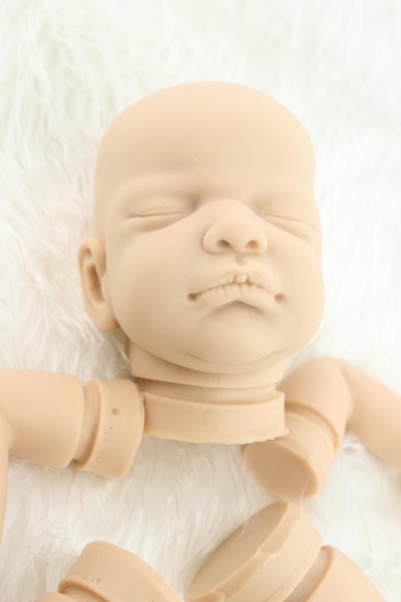 Nuevo Kit Completo Suave de Silicona Hecho a mano sólido Kits hágalo usted mismo Para Muñeca Reborn bebé realista