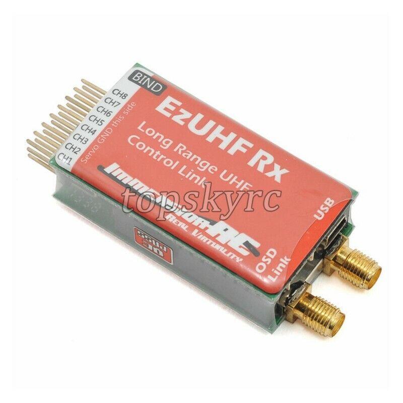 EzUHF 8 Channel Receiver RX RX RX For Futabu Remote Control FPV Fixed Wing Module tps 7270c5