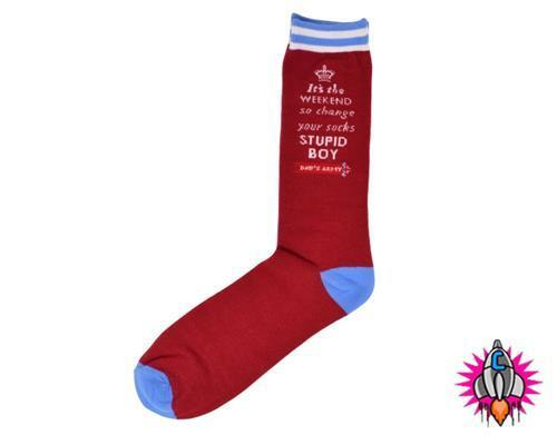 OFFICIAL DADS ARMY MENS SOCKS ONE SIZE 8-12 DAYS OF THE WEEK MONDAY FRIDAY