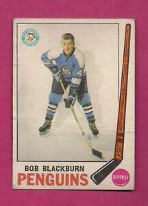 1969-70-OPC-113-PENGUINS-BOB-BLACKBURN-ROOKIE-GOOD-CARD-INV-A7342