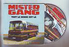 """cd 2 titres : Mister gang - """" tout le monde est la """" et """" zion dub """""""