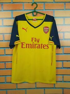 Arsenal Jersey 2014 2015 Away MEDIUM Shirt Puma Football Soccer Trikot Maglia