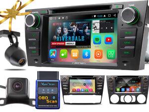 Autoradio-DashCam-Kamera-OBD2-ANDROID-6-4xCore-1GB-BMW-3er-2006-12-E90-E91-92-93