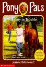 Pony Pals: A Pony in Trouble No. 3 by Jeanne Betancourt (1995, Paperback)