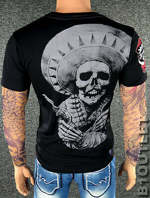 YAKUZA Premium T-Shirt 2607 Schwarz M L XL XXL 3XL 4XL Rolling Rebels Herren NEU