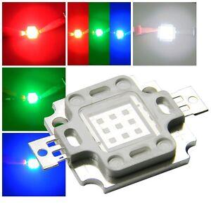 10-Watt-HighPower-LED-Chip-350mA-verschiedene-Farben-Hochleistungs-Leds-10-W
