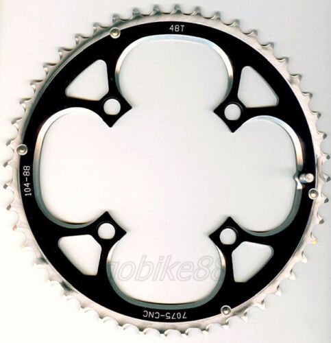 gobike88 Driveline 9 10 speed black chainring 48T BCD 104mm 110g MTB 205