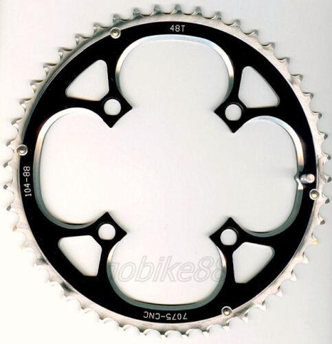gobike88 Driveline 9 10 speed black chainring 48T BCD 104mm 110g MTB 205