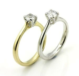 Quality-9ct-Gold-Solitaire-Moissanite-0-50ct-to-2-00ct-Engagement-Ring-tr03m