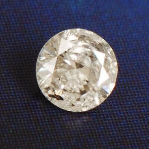 0,12ct Natürlicher Weißer Lose Diamant Runde Form I-j Farbe Mit Zertifikat Ein Bereicherung Und Ein NäHrstoff FüR Die Leber Und Die Niere