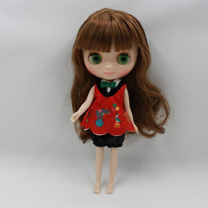 """Takara 8"""" Neo Blythe Middie Nude Doll from Factory"""