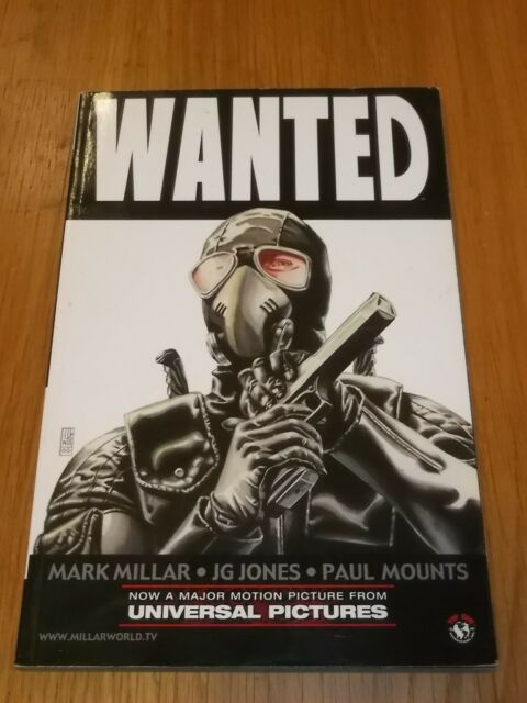 Wanted by Mark Millar (Paperback, 2005)< 9781582404974
