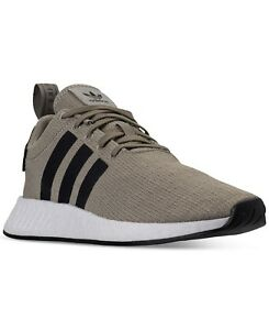 Men's Adidas Nmd R2 Casual Shoes Tech Beigecarbonwhite