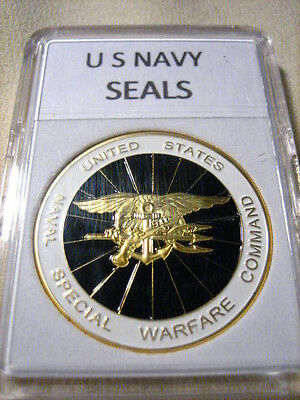 US NAVY SEALS Commemorative Challenge Coin