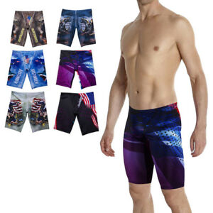 e0ced78408 Image is loading Men-039-s-Jammers-Swimwear-Trunk-Boxer-Swimming-