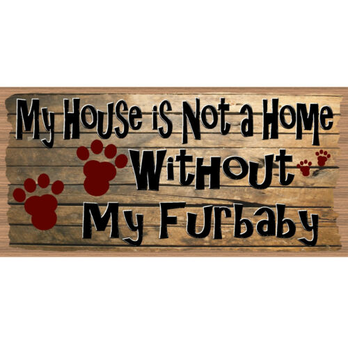 GiggleSticks GS 1060XX Furbaby Sign Dog Wood Signs Dog Plaque