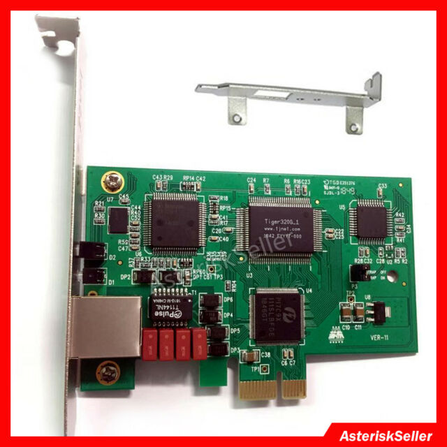 Te110e 1 Port T1 Card E1 Asterisk Card FreePBX Asterisknow ISDN Pri Card  Te110p