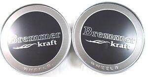 BREMMER-KRAFT-BLACK-CUSTOM-WHEEL-CENTER-CAPS-BR4-2-CAP-FOR-2-CAPS