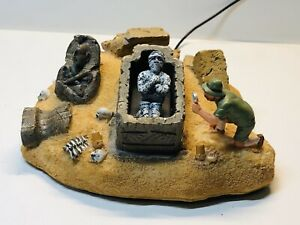Lemax-Spooky-Town-Village-THE-MUMMY-039-S-TOMB-2007-With-Box-Working-NO-POWER-BOX