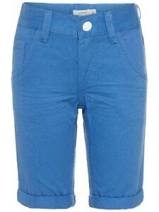 NAME-IT-Jungen-Twill-Bermuda-Long-Shorts-NKMSofus-blau-Groesse-128-bis-164