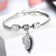 Personalised-Gifts-For-Her-Mum-Nanny-Gran-Auntie-Sister-Godmother-Heart-Bracelet thumbnail 10