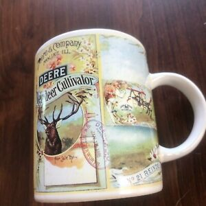 John Deere and Company Licensed Product Coffee Mug By Gibson 12 oz