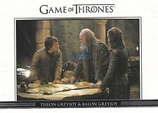 Game Of Thrones: Season 3 - Relationship Card #DL10 Theon & Balon Greyjoy