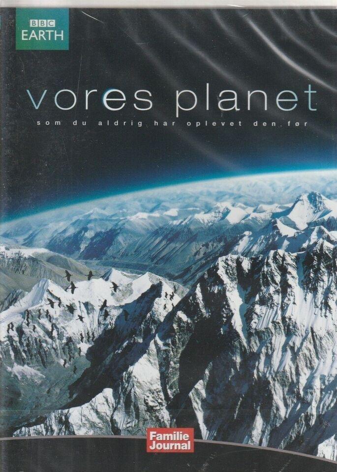 Vores planet fra pol til pol og bjergene, instruktør BBC,