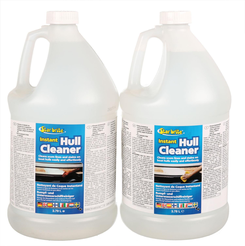 2 x Star brite Instant Hull Cleaner 3.785 Liter + Nivea Pflegeset