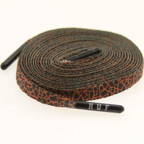 Quake Orange Shoelaces shoestrings 0024-54Inch-1S $6 Starks Laces x HUF
