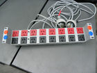 ELSAFE PDU 16 OUTLET SWITCH 15 AMP PLUGS POWER BOARD SERVER RACK ELECTRIC