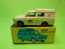 LION CAR  1:43 - DAF STATION PROMO GTI  -  DUTCH PROMO   - GOOD CONDITION IN BOX