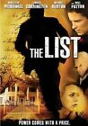 The List DVD 2007 Malcolm McDowell