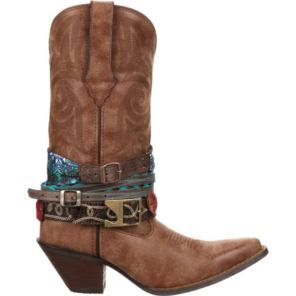 DCRD145 Crush by Durango Women's Accessorized Western Boot NEW