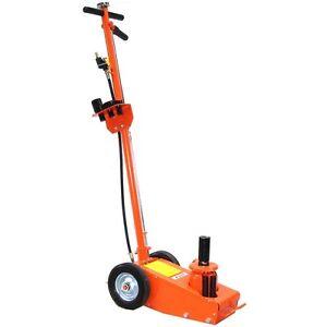 06156 Cric Sollevatore 22t idraulico pneumatico a carrello 22000Kg 22 to
