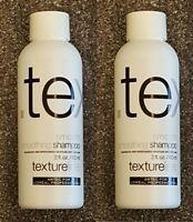 (2) Lot Of 2 – Artec Textureline Smooth Smoothing Shampoo – 2 Oz Travel Size