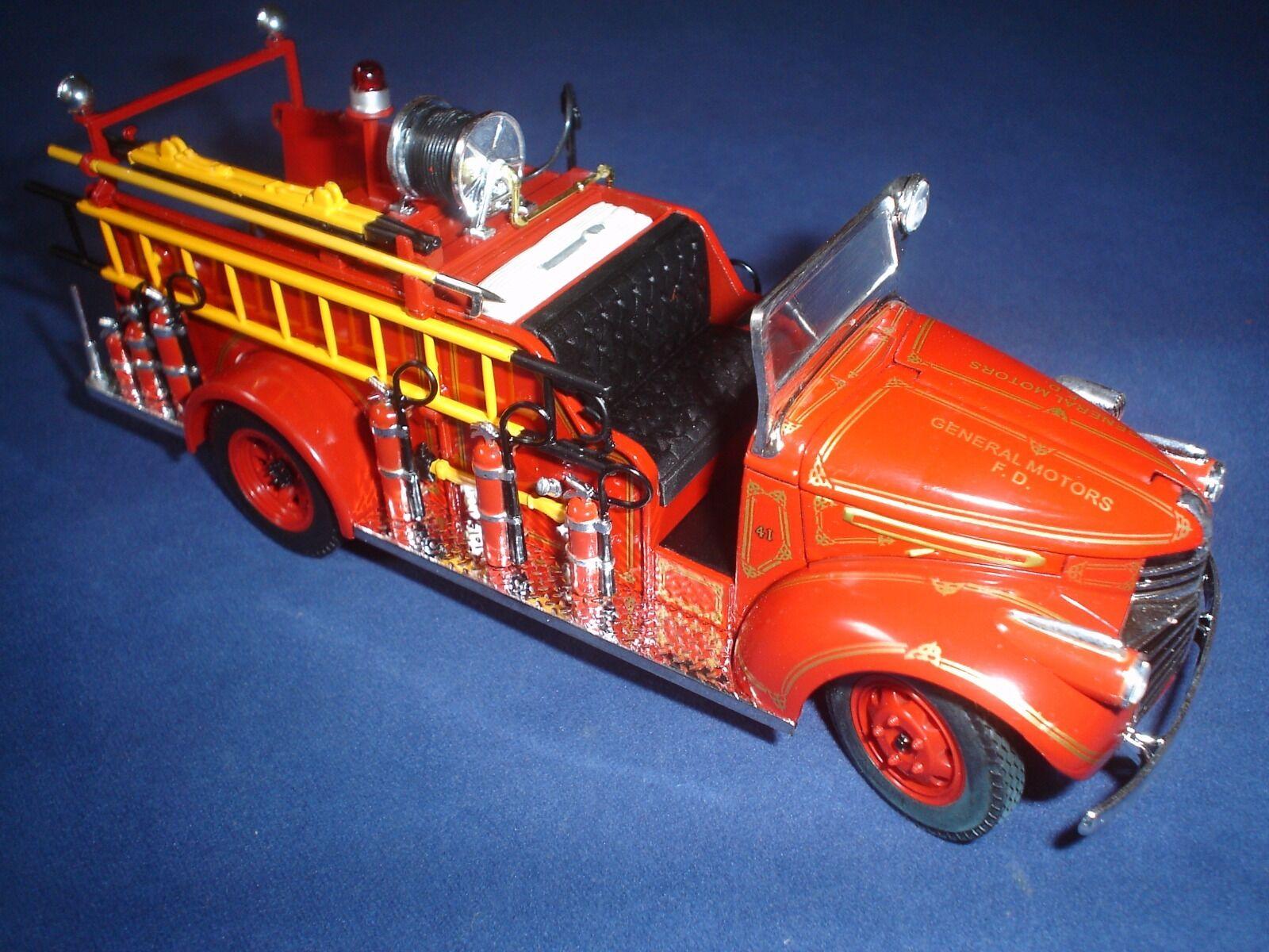 FDNY  – ENGINE – GMC FIRE TRUCK 1941