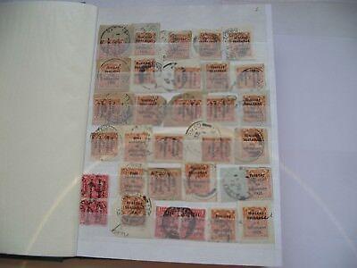 #1 Gross Sammlung Von Stornierungen Auf Den Briefmarken 1922-2010s Irland/Éire